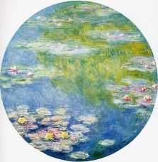The water lilies in his Giverny gardens inspired Claude Monet to focus the better part of 30 years on some 250 paintings of them. (PD-Art)