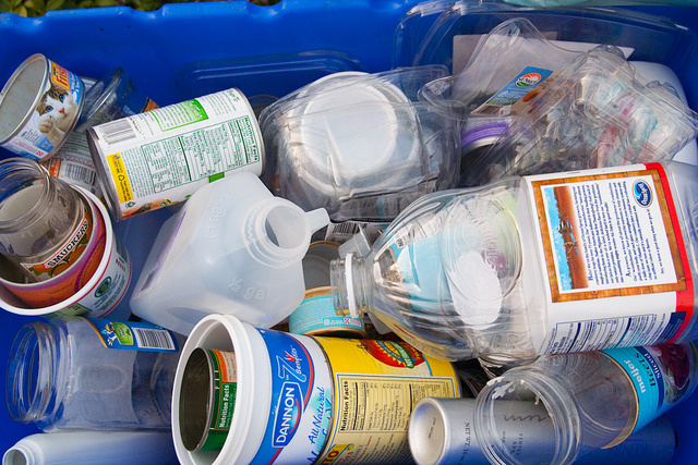 Three cheers for a full recycling bin! (Steven Depolo/Flickr)